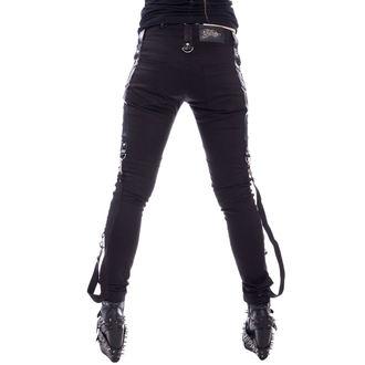 nohavice dámske Vixxsin - LEVANT - BLACK, VIXXSIN