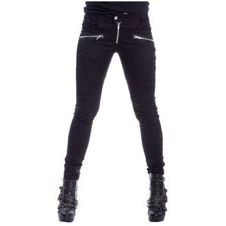 nohavice dámske Vixxsin - LITA - BLACK, VIXXSIN