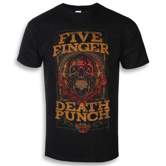 tričko pánske Five Finger Death Punch - Wanted - ROCK OFF, ROCK OFF, Five Finger Death Punch