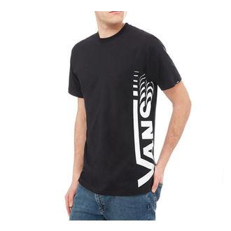 tričko pánske VANS - DISTORTED SS - Black, VANS