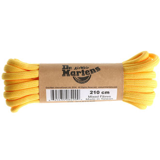 šnúrky Dr. Martens - 210cm (12-14x dierkové) - Yellow, Dr. Martens