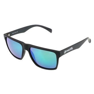 okuliare slnečné MEATFLY - TRIGGER D 4/17/55 - BLACK GREEN, MEATFLY