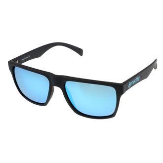 okuliare slnečné MEATFLY - TRIGGER A 4/17/55 - BLACK / BLUE, MEATFLY