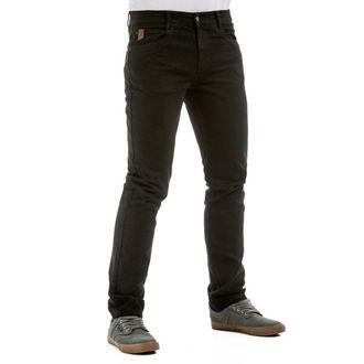 nohavice pánske (jeans) MEATFLY - Riot 2 - 1/7/55, A - Black, MEATFLY