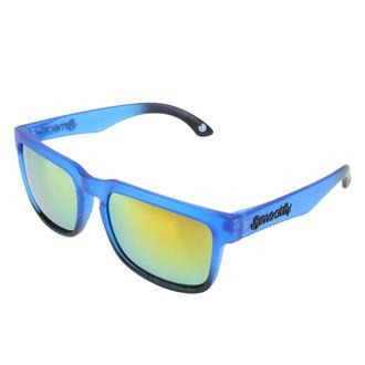 okuliare slnečné MEATFLY - MEMPHIS - E - 4/17/55 - Blue Matt, MEATFLY