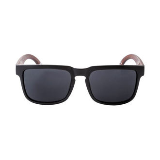 okuliare slnečné MEATFLY - MEMPHIS - D - 4/17/55 - Black Wood, MEATFLY