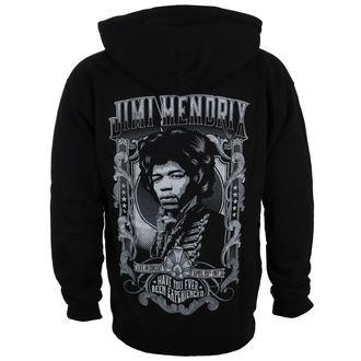 mikina pánska Jimi Hendrix - HENDRIX AUTHENTC - BLK - BRAVADO, BRAVADO, Jimi Hendrix