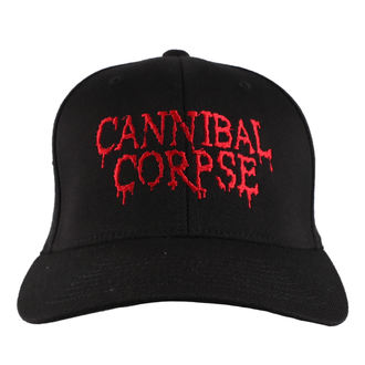 šiltovka CANNIBAL CORPSE - RED - JSR, Just Say Rock, Cannibal Corpse
