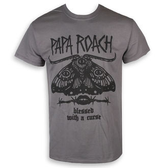 tričko pánske Papa Roach - Blessed Curse - Charcoal - KINGS ROAD, KINGS ROAD, Papa Roach