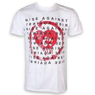 tričko pánske Rise Against - Block - White - KINGS ROAD, KINGS ROAD, Rise Against
