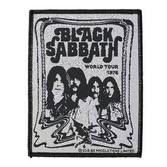 nášivka BLACK SABBATH - BAND - RAZAMATAZ, RAZAMATAZ, Black Sabbath