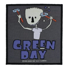 nášivka GREEN DAY - HAMMER FACE - RAZAMATAZ, RAZAMATAZ, Green Day
