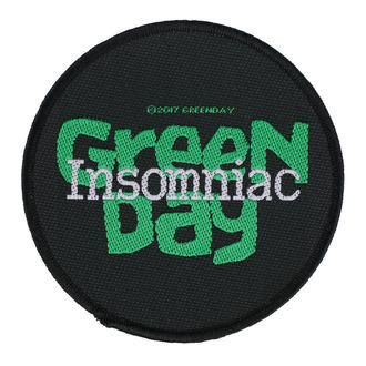 nášivka Green Day - Insomniac - RAZAMATAZ, RAZAMATAZ, Green Day