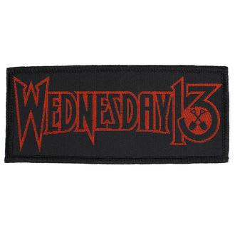 nášivka Wednesday 13 - Logo - RAZAMATAZ, RAZAMATAZ, Wednesday 13