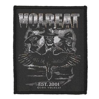 nášivka VOLBEAT - OUTLAW RAVEN - RAZAMATAZ, RAZAMATAZ, Volbeat