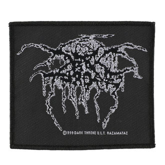 nášivka DARKTHRONE - LUREX LOGO - RAZAMATAZ, RAZAMATAZ, Darkthrone