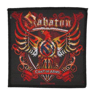 nášivka SABATON - COAT OF ARMS - RAZAMATAZ, RAZAMATAZ, Sabaton