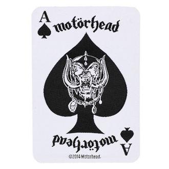 nášivka Motörhead - ACE OF SPADES CARD - RAZAMATAZ, RAZAMATAZ, Motörhead