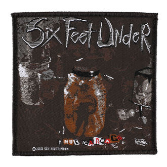 nášivka SIX FEET UNDER - TRUE CARNAGE - RAZAMATAZ, RAZAMATAZ, Six Feet Under