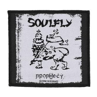 nášivka SOULFLY - PROPHECY - RAZAMATAZ, RAZAMATAZ, Soulfly