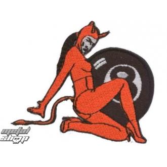 nášivka nažehlovacia  Devil 2 - 67173-924