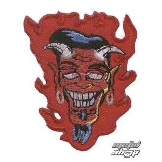 nášivka nažehlovacia  Devil 5, NNM