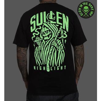 tričko pánske SULLEN - NIGHT LIGHT - BLACK, SULLEN