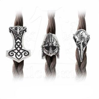 goráliky (3ks) na vlasy (fúzy) ALCHEMY GOTHIC - Norsebraid, ALCHEMY GOTHIC