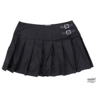sukňa dámska Black Pistol - Buckle Mini Denim - Black - B-2-48-001-00