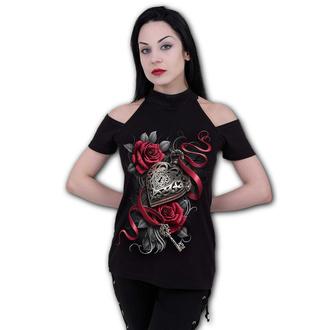 tričko dámske SPIRAL - HEART LOCKET - Halter - D092F764