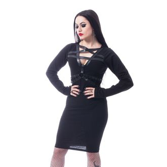 šaty dámske HEARTLESS - PENTA CURSE - BLACK, HEARTLESS