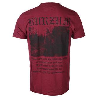 tričko pánske BURZUM - filozofa 3 (MAROON) - PLASTIC HEAD, PLASTIC HEAD, Burzum