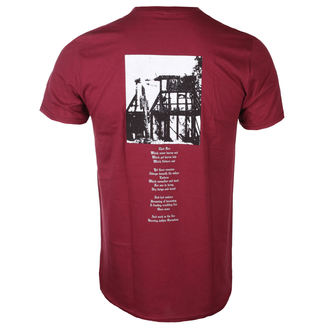 tričko pánske BURZUM - Askey (MAROON) - PLASTIC HEAD, PLASTIC HEAD, Burzum