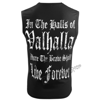 tielko pánske VICTORY OR VALHALLA - THE ALMIGHTY TAUGHT ME TO FEAR NOTHING, VICTORY OR VALHALLA