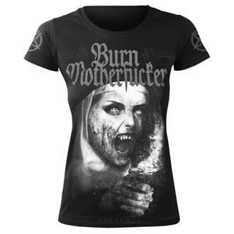 tričko dámske AMENOMEN - BURN MOTHERFUCKER, AMENOMEN