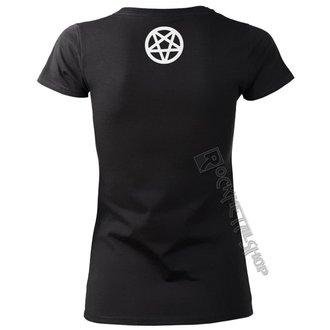tričko dámske AMENOMEN - PENTAGRAM BURN - OMEN067DA