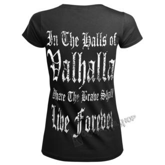 tričko dámske VICTORY OR VALHALLA - BURNING DOGMAS, VICTORY OR VALHALLA