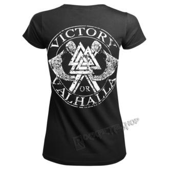 tričko dámske VICTORY OR VALHALLA - VIKING SKULL, VICTORY OR VALHALLA