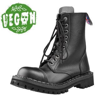 topánky STEADY´S - 10 dierkové - Vegan black, STEADY´S