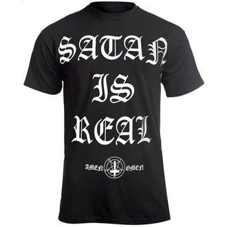 tričko pánske AMENOMEN - SATAN IS REAL, AMENOMEN