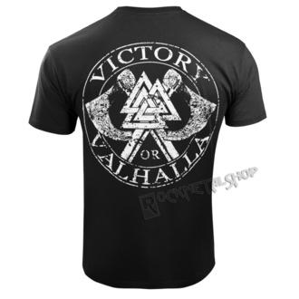 tričko pánske VICTORY OR VALHALLA - VIKING SKULL, VICTORY OR VALHALLA