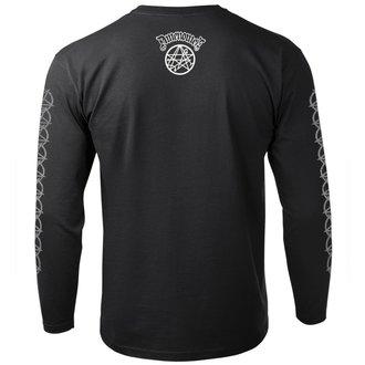 tričko pánske s dlhým rukávom AMENOMEN - BURN MOTHERFUCKER, AMENOMEN