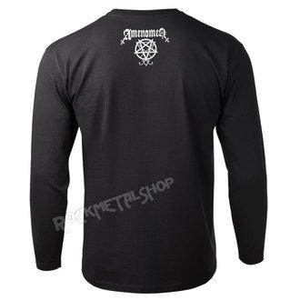 tričko pánske s dlhým rukávom AMENOMEN - FUCK YOUR LIES