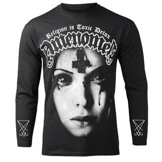 tričko pánske s dlhým rukávom AMENOMEN - RELIGION IS TOXIC DETOX, AMENOMEN