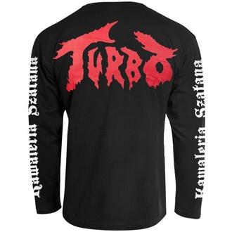 tričko pánske s dlhým rukávom TURBO - KAWALERIA SZATANA - CARTON, CARTON, Turbo