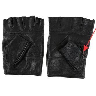 rukavice kožené OSX - DEMON - POŠKODENÉ, OSX