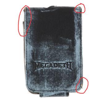 puzdro na MP3 prehrávač Megadeth - BIOWORLD - POŠKODENÉ, BIOWORLD, Megadeth
