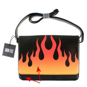kabelka IRON FIST - Fire Sign - Black - POŠKODENÁ, IRON FIST