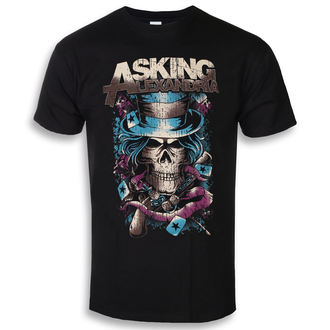 tričko pánske Asking Alexandria - Hat Skull - ROCK OFF, ROCK OFF, Asking Alexandria