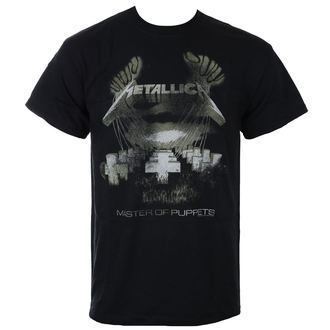 tričko pánske Metallica - Master Of Puppets - Distressed - Black, Metallica